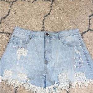 Jean Shorts - Forever 21